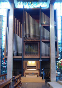 Organ at St Michael's Church
